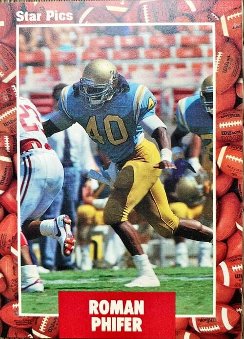 NFLカード 91STARPICS ROMAN PHIFER #081
