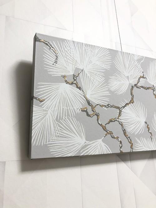 北欧アート|松のアートパネル<80421A40>