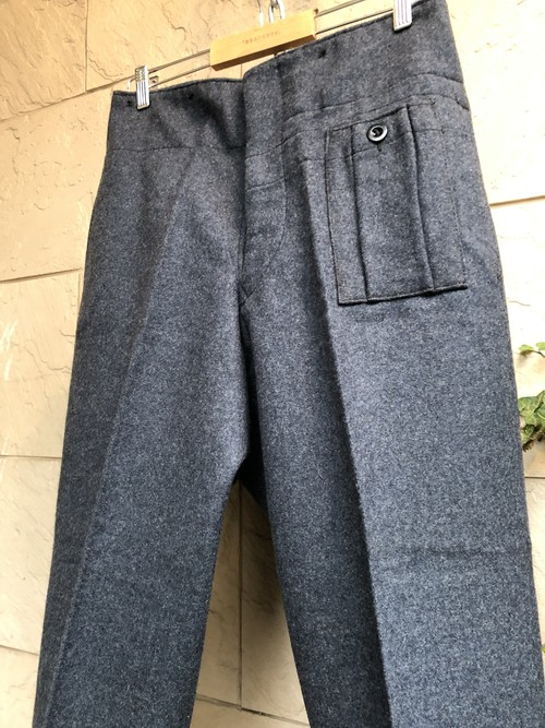 1940s British RAF wool trousers dated 1944
