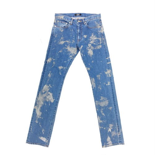 D.TT.K REFLECTOR PAINTED DENIM TROUSERS