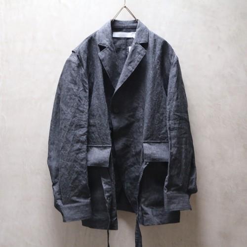 ASEEDONCLOUD アシードンクラウド Sakurashi Jacket black no.211201