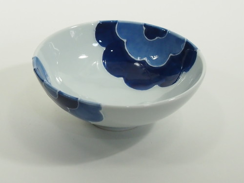イッチンごす花浅型飯碗