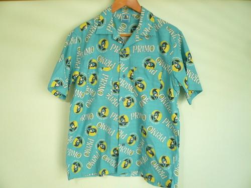 PRIMO プリモ 縮緬コットン ハワイアンシャツ HAWAII / 東洋エンタープライズ サンサーフ シュガーケーン