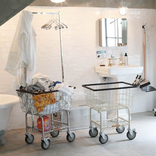 LAUNDRY CART CHROME
