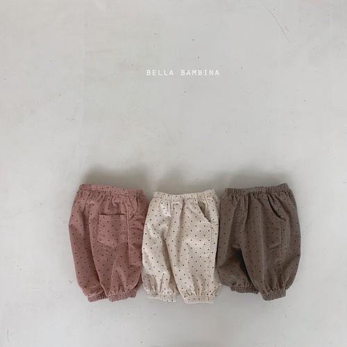 =sold out=dot pants【baby】〈bella bambina〉