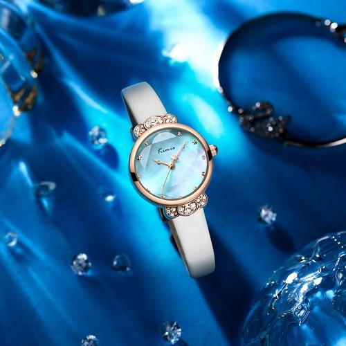 Kimio AF-Z1008 Crown(White Blue) レディース腕時計