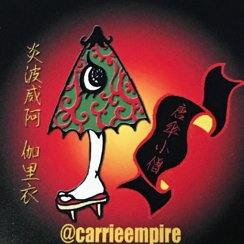 【キャリー・エンパイア】CE-3 唐傘小僧シール