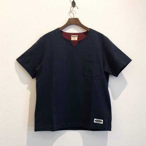 SKIPPER TEE (NAVY) / LOST CONTROL