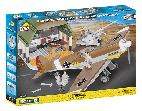 COBI #5544 メッサーシュミット Bf109F-4 北アフリカ 整備セット