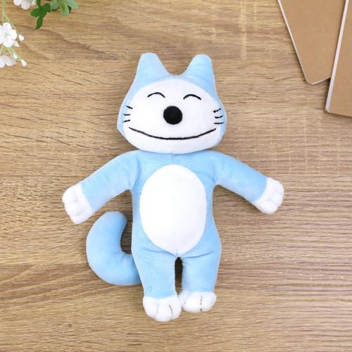 ぬいぐるみ Sサイズ ブルー【11ぴきのねこ】