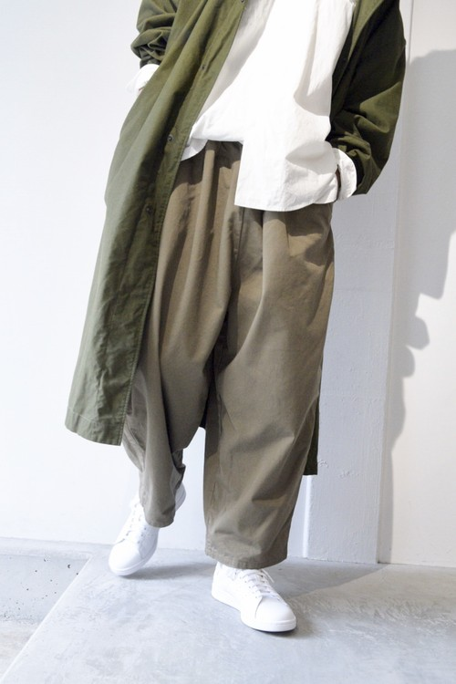 【ORDINARY FITS】BALL PANTS chino/OF-P001/KHK