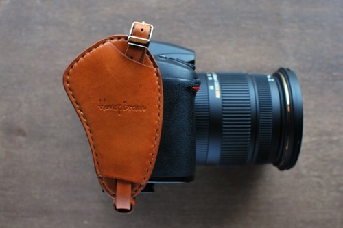 ハンドグリップストラップ/camera handstrap CAMEL