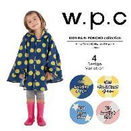 ダブリューピーシー W.P.C rain poncho キッズコート WKサイズ(#M)カラー(03.ブルー)