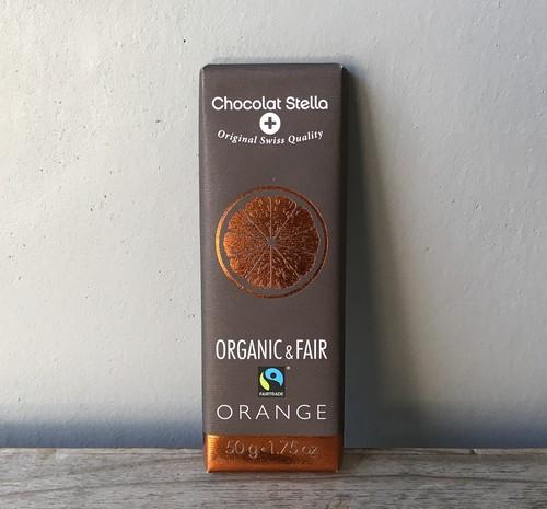 ステラ オーガニックダークチョコレート オレンジ