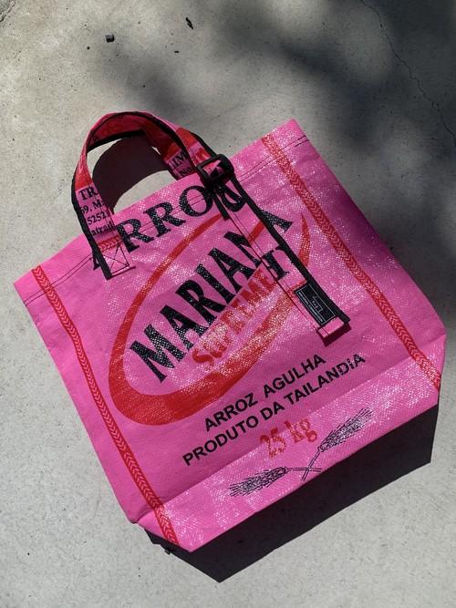 タイ製 ライストートバック pink