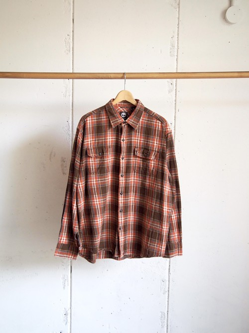 USED / Timberland, Flannel check shirts