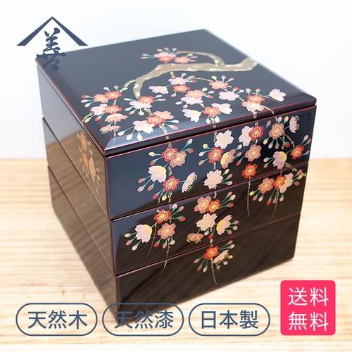 重箱 枝垂桜