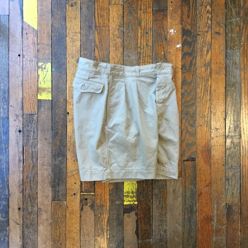 60's French Army  Chino Shorts / Deadstock