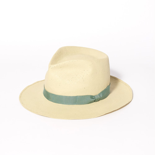 【FILL THE BILL×KIJIMA TAKAYUKI】《UNISEX》SHOWER PROOF PANAMA HAT - BEIGE×GREEN