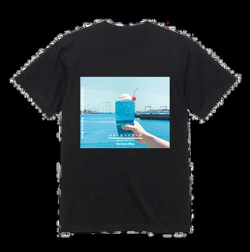 【NEW】Horizon Blue Tシャツ(ブラックM/L/XL)
