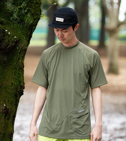TANNUKI / Sato SS Mock Neck《Green》