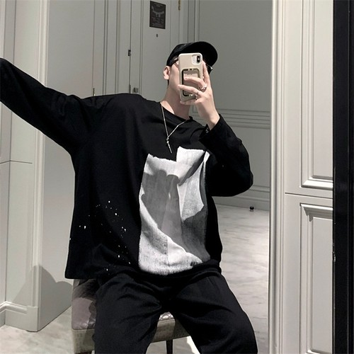 ★UNISEX ペイントテープロングTシャツ 11500