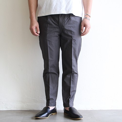 STILL BY HAND  【 mens 】double slacks