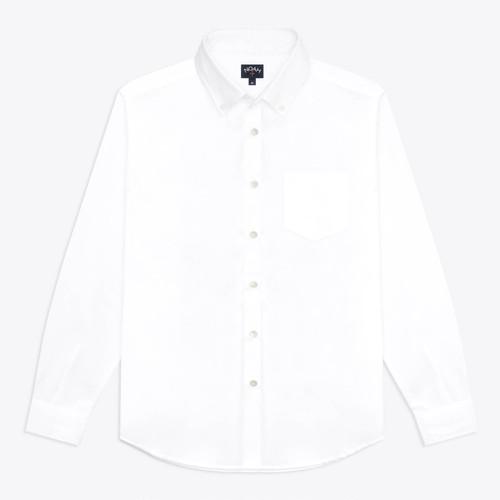 Noah x New Order Oxford Shirt(White)
