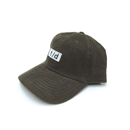 THURSDAY - t/d CORDUROY CAP (Dark Brown)