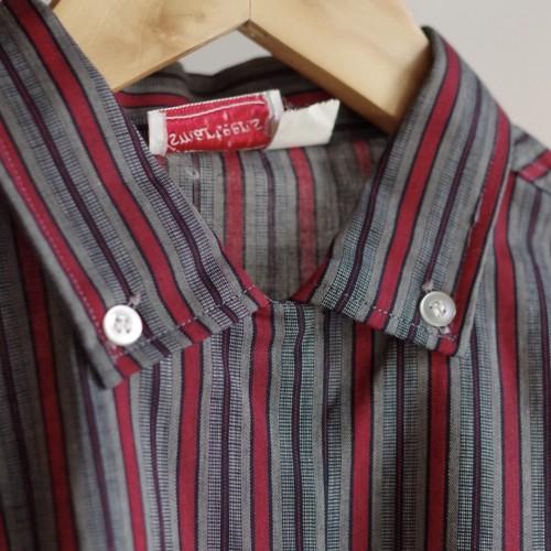 50's Multi stripe Shirt / ボタンダウン マルチストライプ シャツ