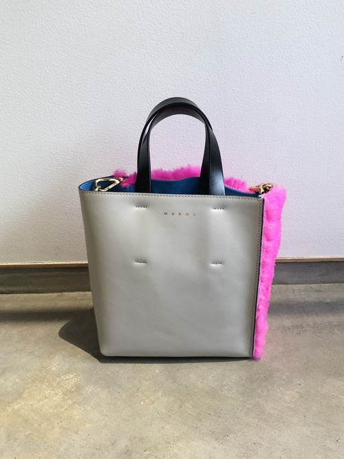 【20AW】MARNI マルニ / Mouton Museo Soft Bag