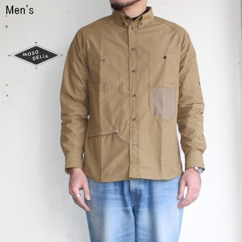 mosodelia ユースフルシャツ Useful Shirts 18SS-S-001 (BEIGE)