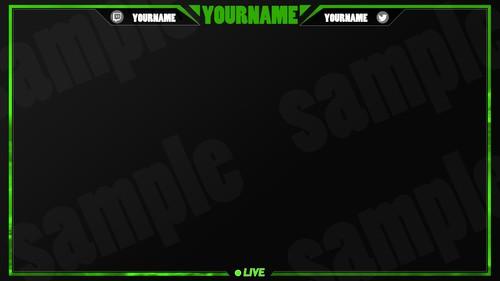 Simple frame -GREEN-