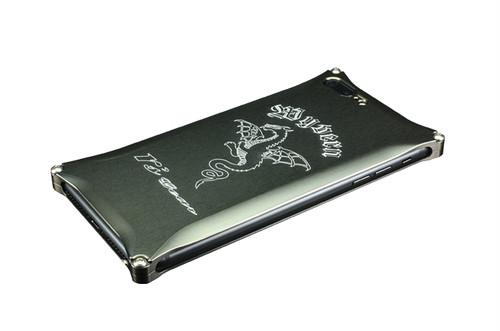 iPhone 7 Plus用 ワイバン スマートフォンケース プラチナブラック[XXSP-0005-PB]