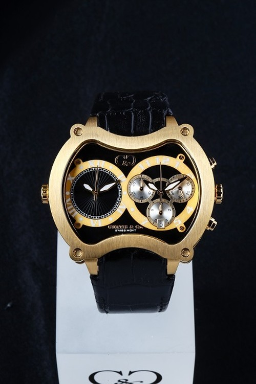 NEW Big Time GRAND 57mm Chrono 2Time Zone 【JAPAN Limited】BGD57BK-G