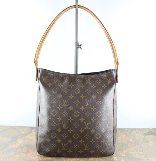 .LOUIS VUITTON M51145 MI0020 MONOGRAM PATTERNED TOTE BAG MADE IN FRANCE/ルイヴィトンルーピングモノグラムトートバッグ2000000052984