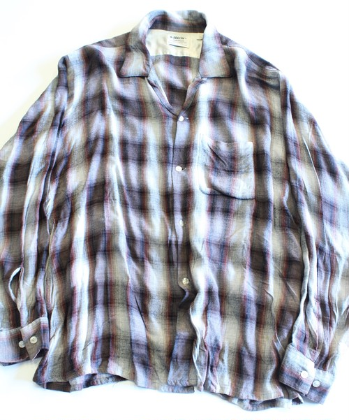 Vintage Arrow ombré check shirt