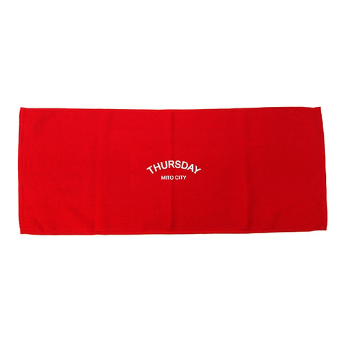 THURSDAY - ARCH TOWEL (Red)