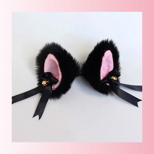 【お取り寄せ】BIG 立体猫耳 6色