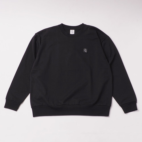 Emblem Sweatshirt designed by tomoo gokita / BLACK