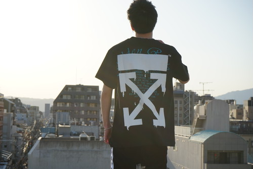 OFF-WHITE / DRIPPING ARROWS S/S OVER