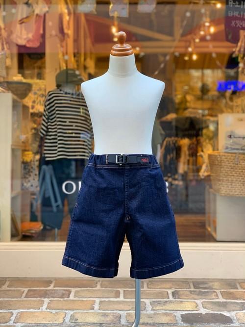 KIDS:GRAMiCci【グラミチ】KIDS DENIM G-SHORTS(ONE WASH/100〜130cm)ショートパンツ