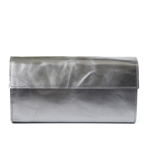 191AWA11 Leather long wallet 'bellows' ロングウォレット
