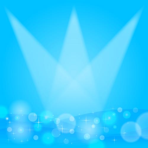 背景 イラスト 青 ブルー