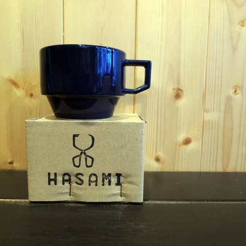 HASAMI / BLOCKMUG NAVY(HA-1-11)