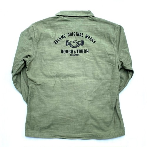 VOLUME ORIGINAL / VINTAGE MILITARY WORK SHIRTS (SHAKEHAND)