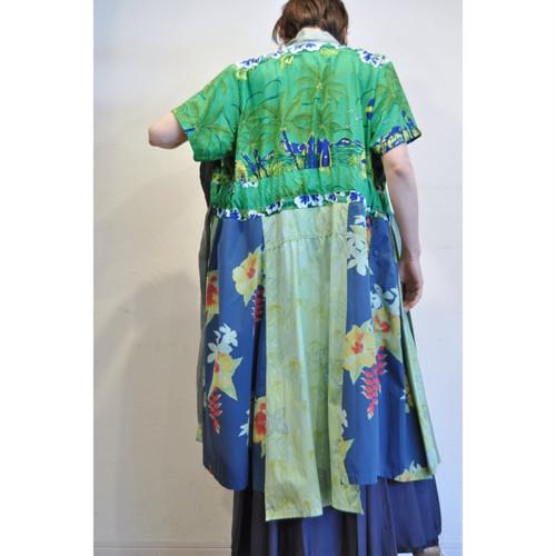 【RehersalL】 aloha gown (mint 20)/【リハーズオール】アロハガウン(ミント 20)