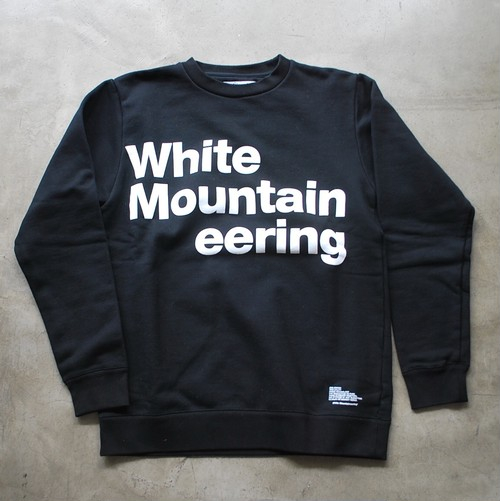 "White Mountaineering LOGO PRINTED SWEATSHIRT ""White Mountaineering"""