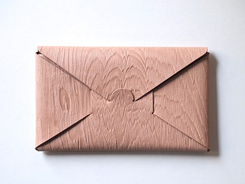 【i ro se】SEAMLESS LONG WALLET 長財布 PLYWOOD