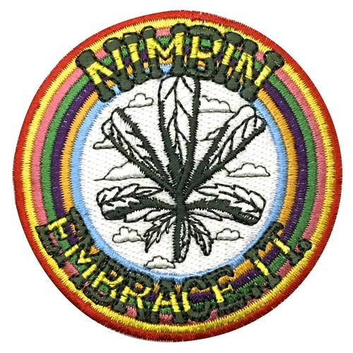 ★Nimbin Fair★EMBRACE.IT PATCH